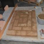Bodenplatte Ofen